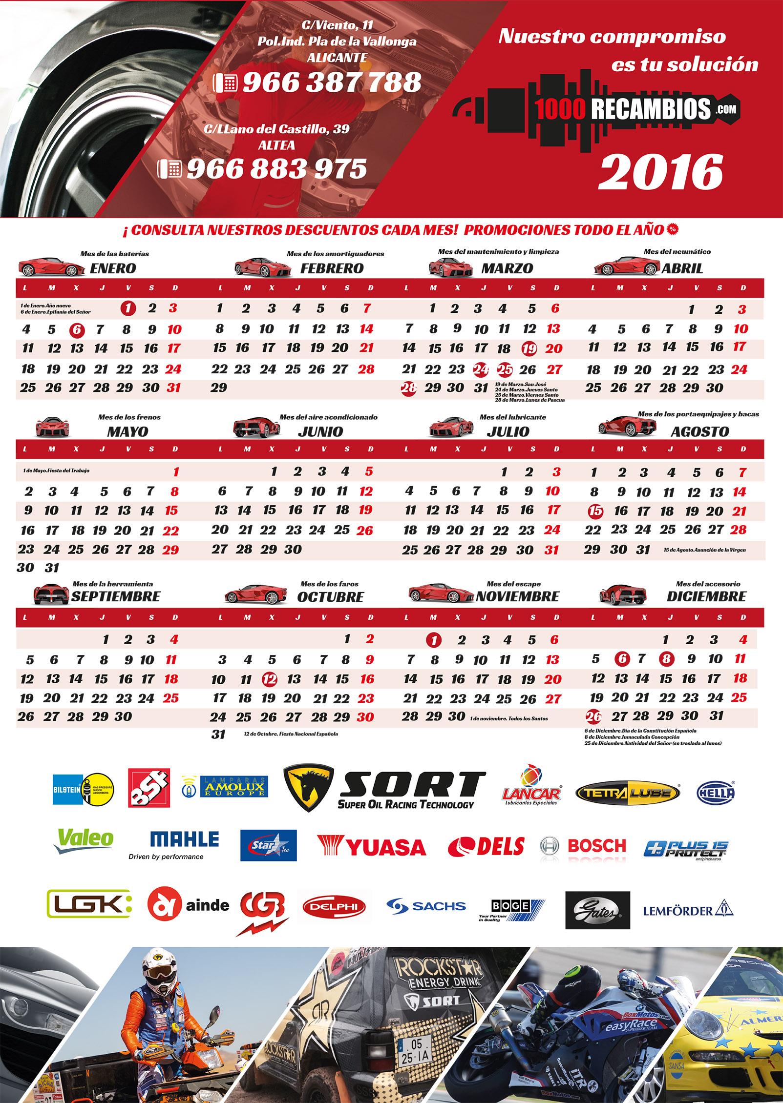 calendario1000Recambios2016